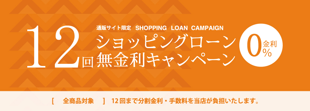 Shopping loan 12 times no interest rate campaign