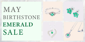 May Birthstone Jewelery Sale