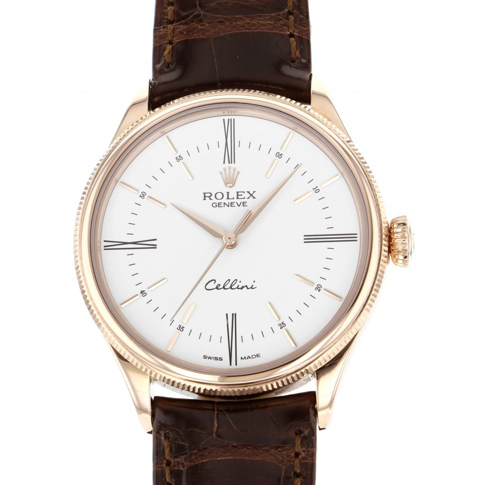 Rolex ROLEX Cellini time 50505 New product Watch mens
