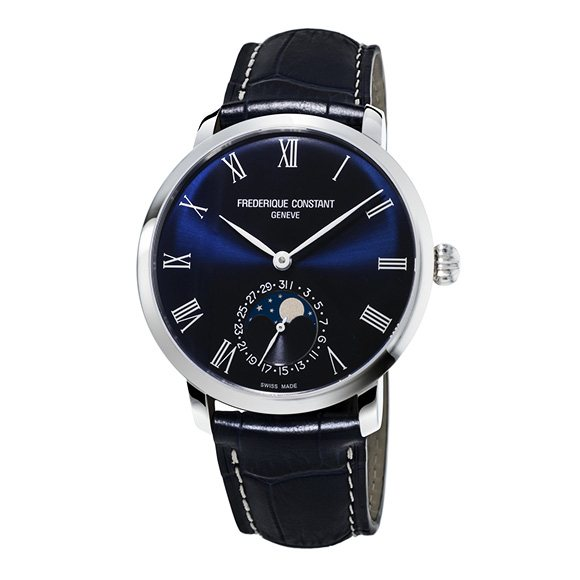 Frederique Constant FREDERIQUE CONSTANT Slim Line Moon phase Manufacture FC-705NR4S6 New product Watch mens