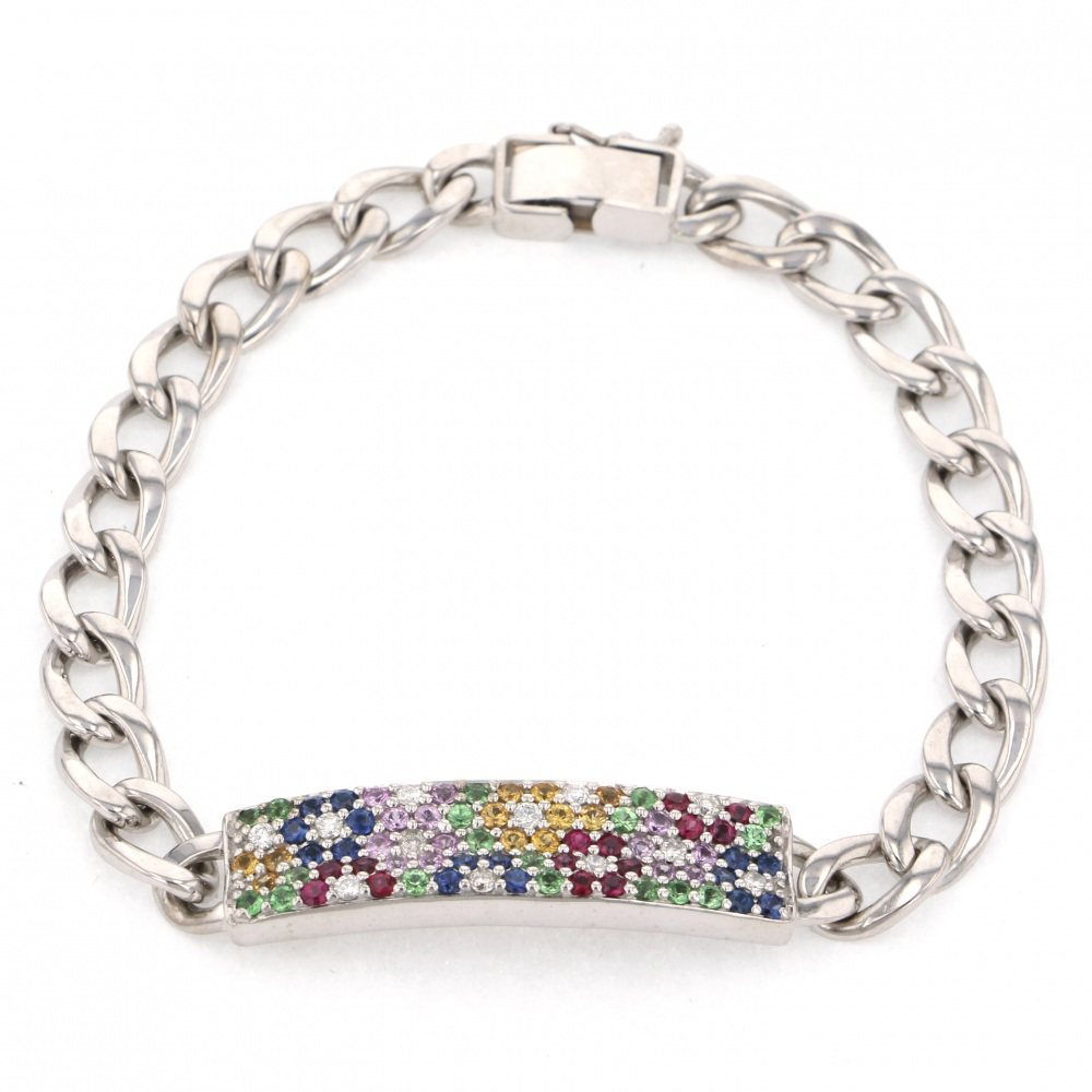Yukizaki Select Jewelry YUKIZAKI SELECT JEWELRY bracelet White Gold multicolor bracelet New product jewelry
