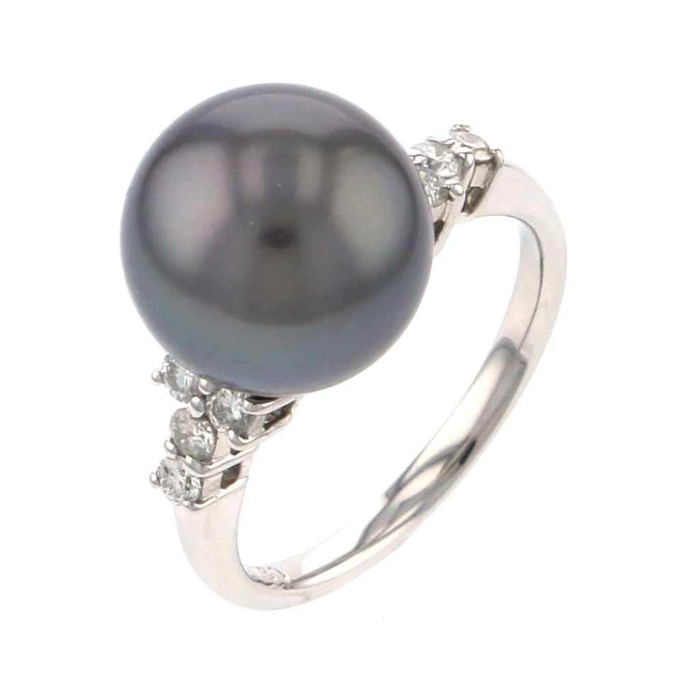 Yukizaki Select Jewelry YUKIZAKI SELECT JEWELRY ring platinum Tahitian pearl ring New product jewelry