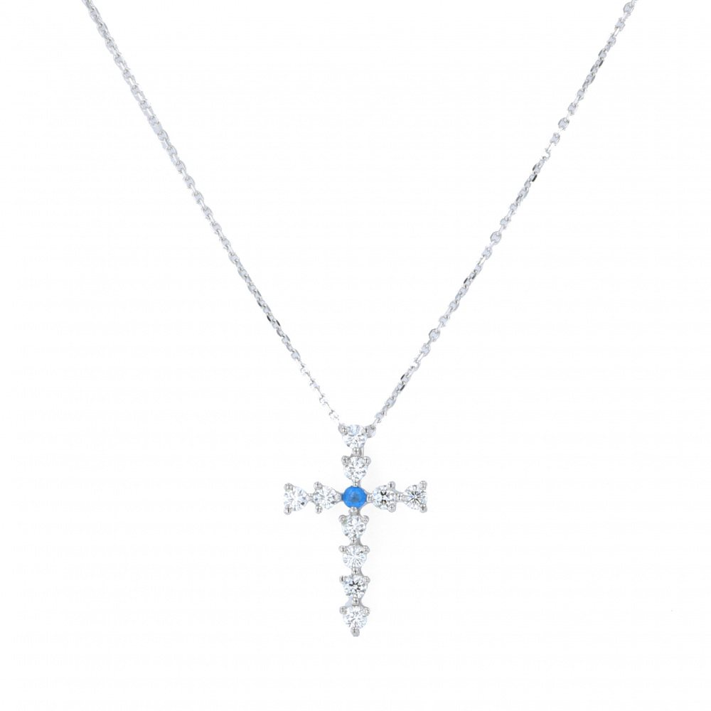 Yukizaki Select Jewelry YUKIZAKI SELECT JEWELRY Necklace / pendant White Gold Awinite necklace - New product jewelry
