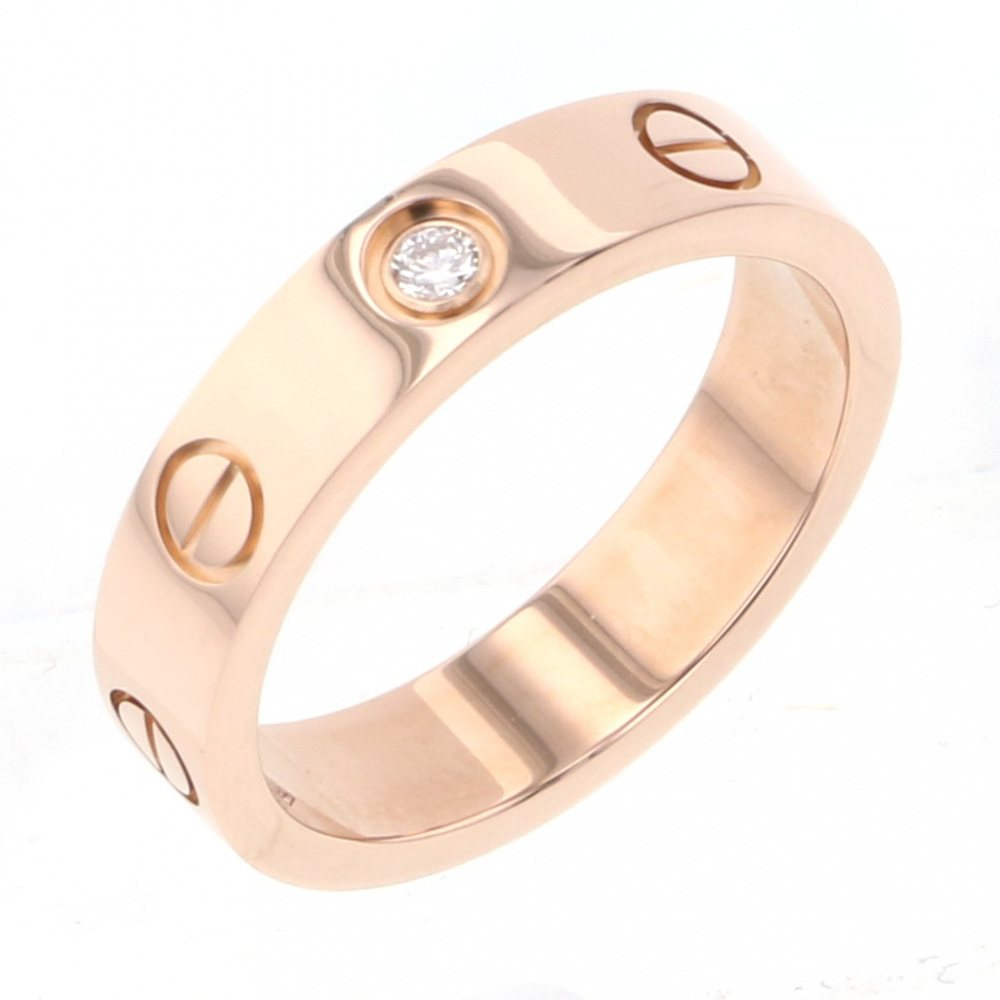 Cartier Cartier ring Pink gold love wedding ring B4050700 USED jewelry