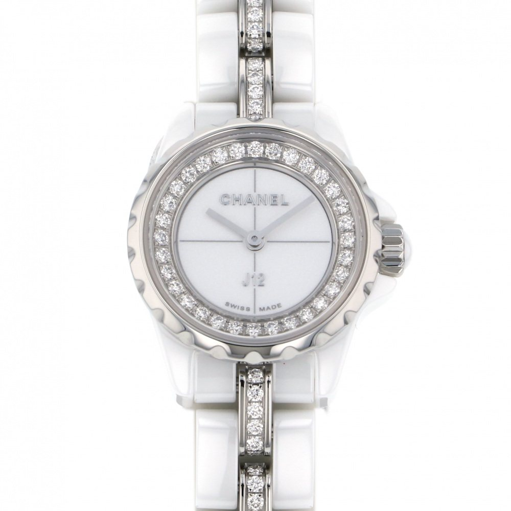 CHANEL CHANEL J12 XS H5238 White dial New product Watch Women