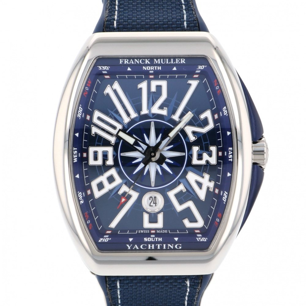 FRANCK MULLER FRANCK MULLER Vanguard Sailing Chronograph V45CC DT YACHTING New product Watch mens