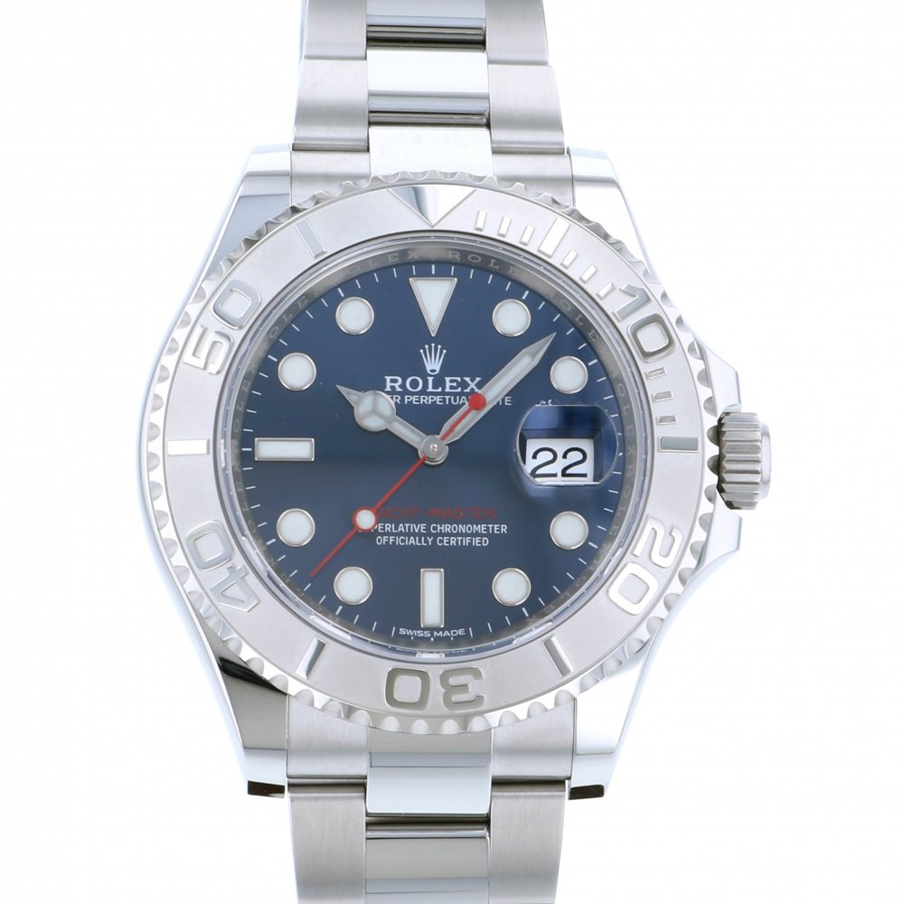 Rolex ROLEX Yacht master 40 116622 Blue dial New product Watch mens