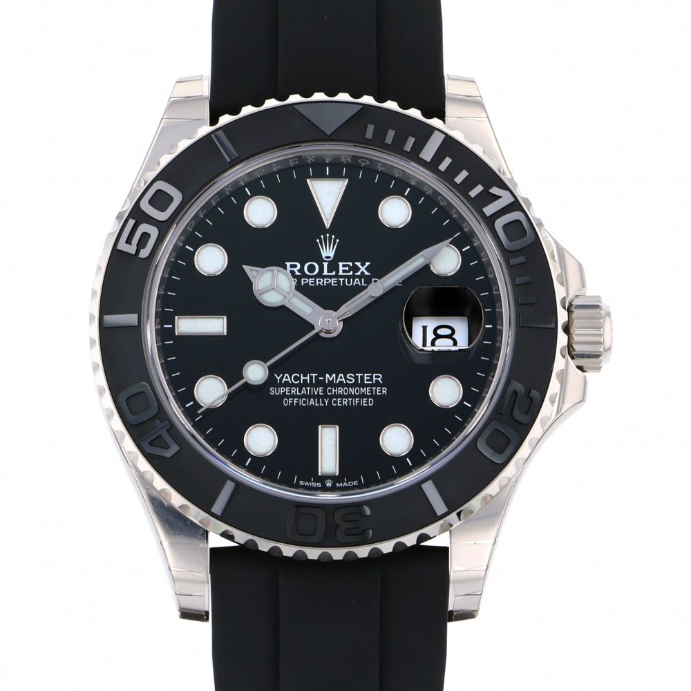 Rolex ROLEX Yacht master 42 226659 Black dial New product Watch mens