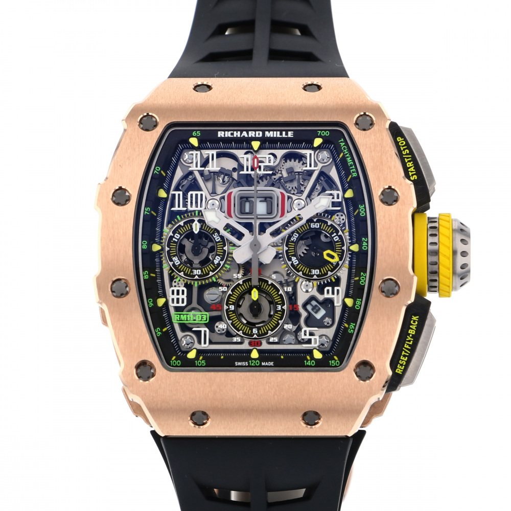 Richard Mille RICHARD WHAT Flyback Chronograph RM11-03 RG Gray dial New product Watch mens