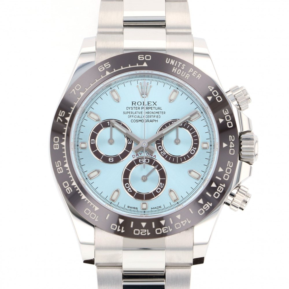 Rolex ROLEX Daytona 116506 Ice blue dial New product Watch mens