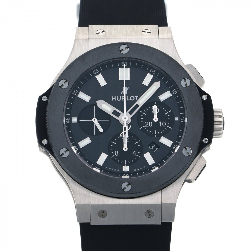 HUBLOT HUBLOT big Bang steel ceramic 301.SM.1770.RX Black dial New product Watch mens