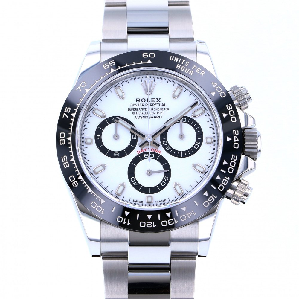 Rolex ROLEX Daytona 116500LN White dial New product Watch mens