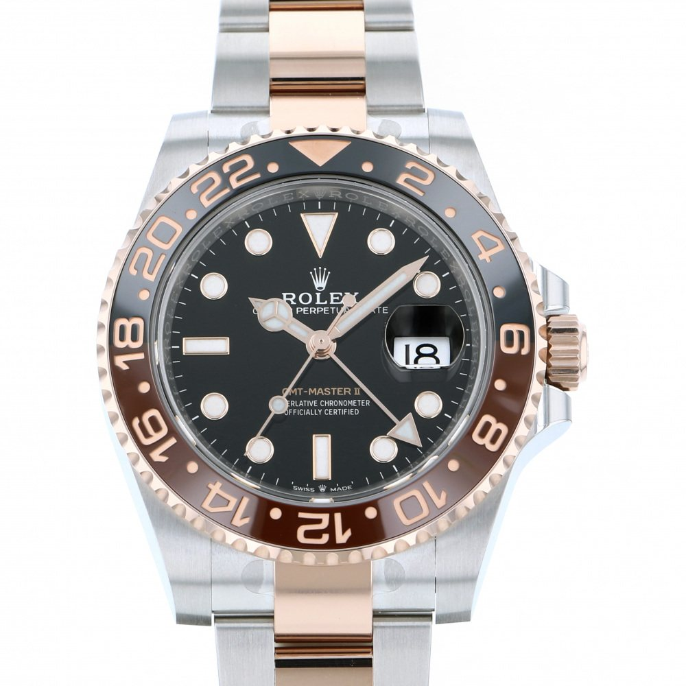 Rolex ROLEX GMT Master II 126711CHNR Black dial New product Watch mens