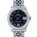 rolex datejust 178384bkrmvid