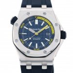 AUDEMARS PIGUET AUDEMARS PIGUET Royal Oak Offshore Diver 15710ST.OO.A027CA.01 Blue dial New product Watch mens