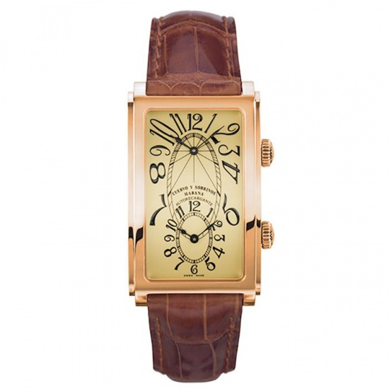 crow and nephews celebrity Cuervo y Sobrinos Prominente Dual time 1112-8c