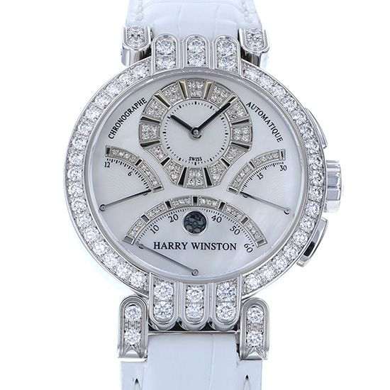 harrywinston premiere HARRY WINSTON Premiere Ex Center Bird retro Chronograph Bezel diamond 200/mcra39wwh