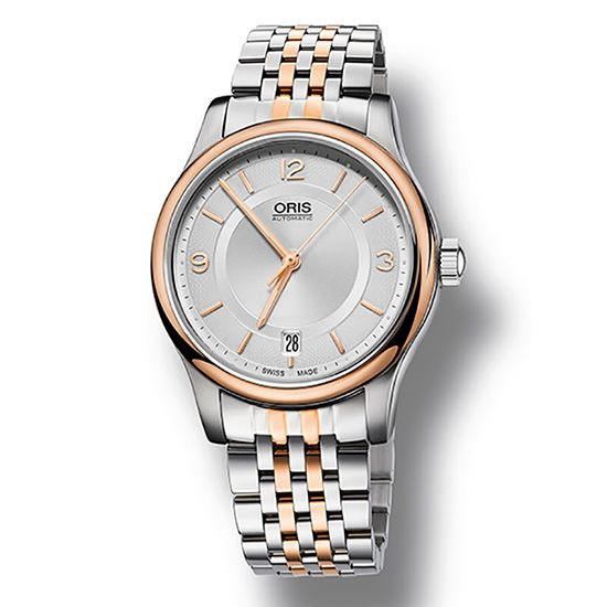 mouth other Oris Classical Date 733 7578 4331m