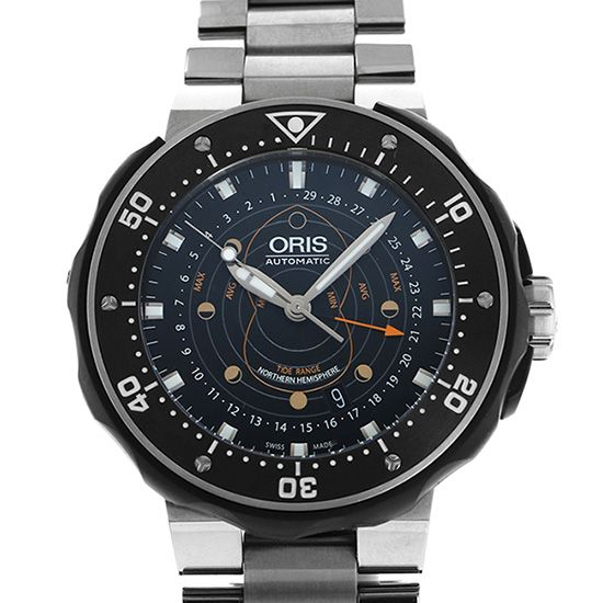 mouth various Oris Divers Pointer moon 761 7682 7154
