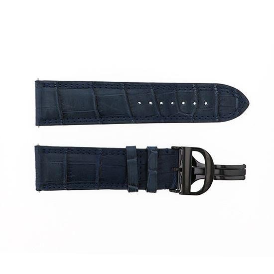 strap dunamis Genuine strap Dynamis For spartan Navy croco -