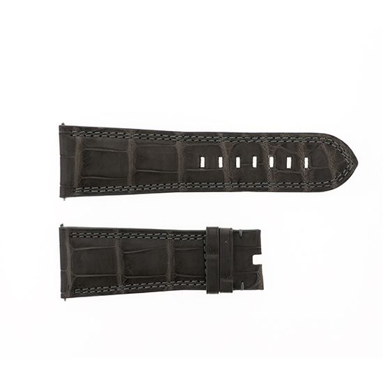 strap dunamis Genuine strap Dynamis Gray croco for Hercules -