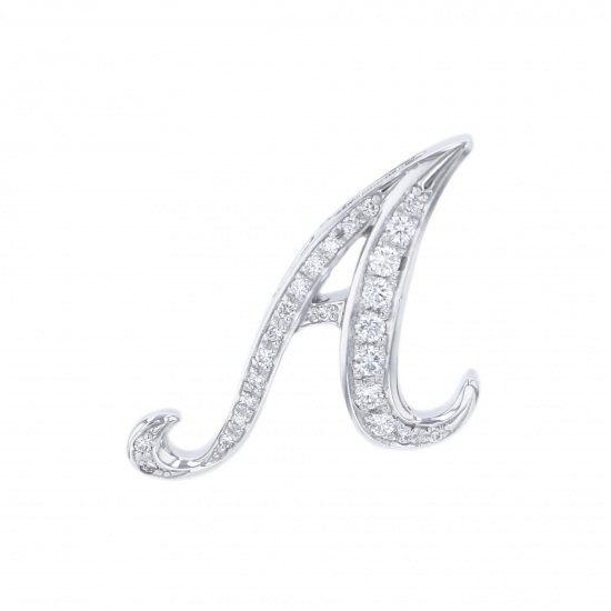 nombre alpha Nomble alpha Initial pendant top [A] small size [regular article] y.alpha.12.9.a.s