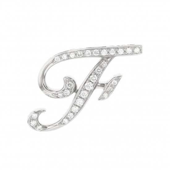 nombre alpha Nomble alpha Initial pendant top [F] Small size [Regular article] y.alpha.12.9.f.s