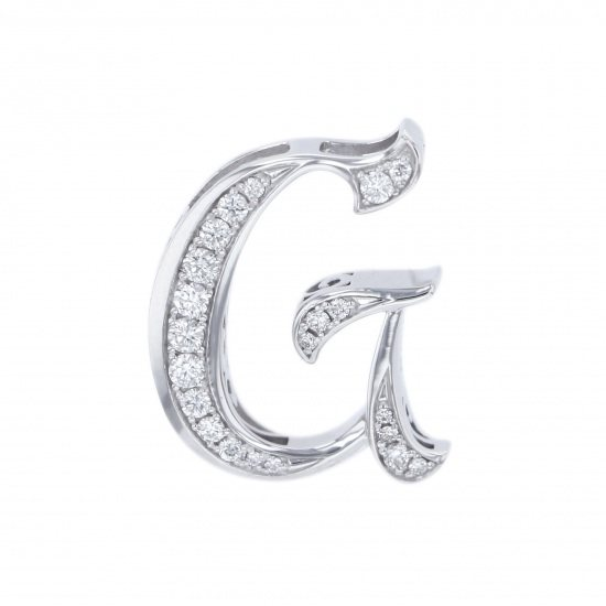nombre alpha Nomble alpha Initial pendant top [G] small size [regular] y.alpha.12.9.g.s