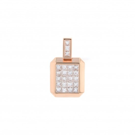 horoscope necklace_pendant horoscope Necklace / pendant Constellation Pen Head [Lion] Diamond Small size [regular article] h0723.12.22.5