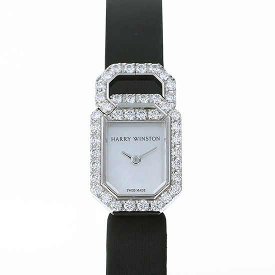 harrywinston other HARRY WINSTON Link Signature Bezel diamond hjtqhm18ww036