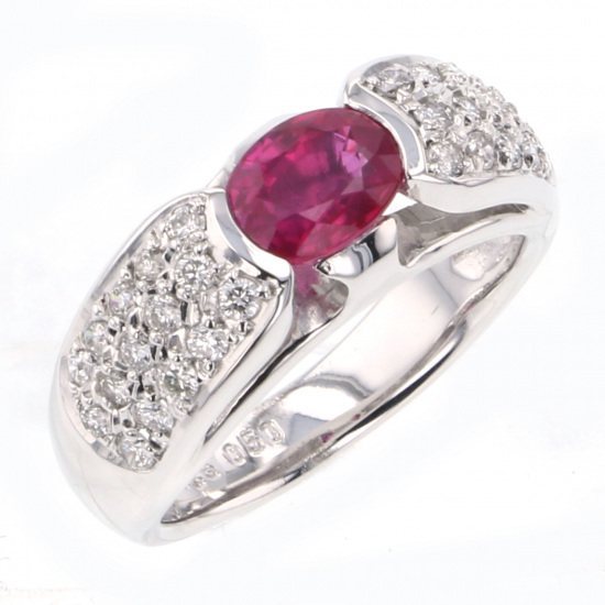 Yukizaki Select ring Yukizaki Select Jewelry ring White Gold Ruby ring -