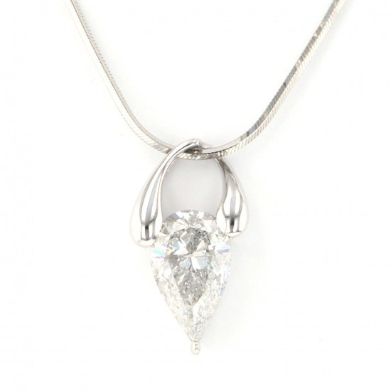 Yukizaki Select necklace_pendant Yukizaki Select Jewelry Necklace / pendant platinum diamond necklace -
