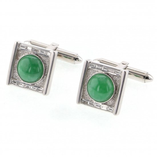 Yukizaki Select cuffs Yukizaki Select Jewelry cuffs White Gold Jade cuffs -
