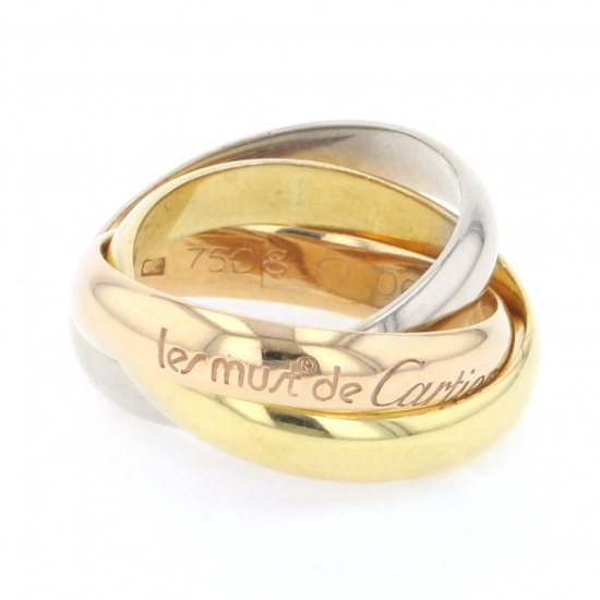 cartier ring Cartier ring Yellow gold / pink gold / white gold Trinity ring -