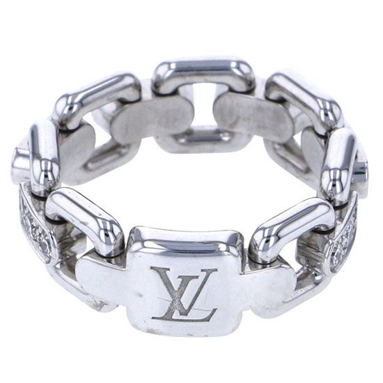 louisvuitton ring Louis Vuitton ring Burg chain Attraction ring -
