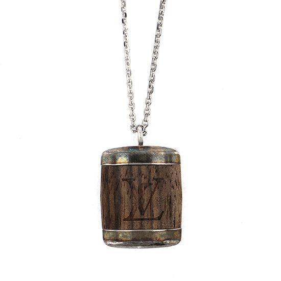 louisvuitton necklace_pendant Louis Vuitton Necklace / pendant Wood necklace -