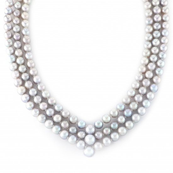 pearl necklace パール ネックレス  -