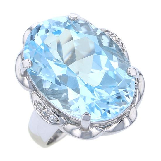 Yukizaki Select ring Yukizaki Select Jewelry ring Natural topaz -