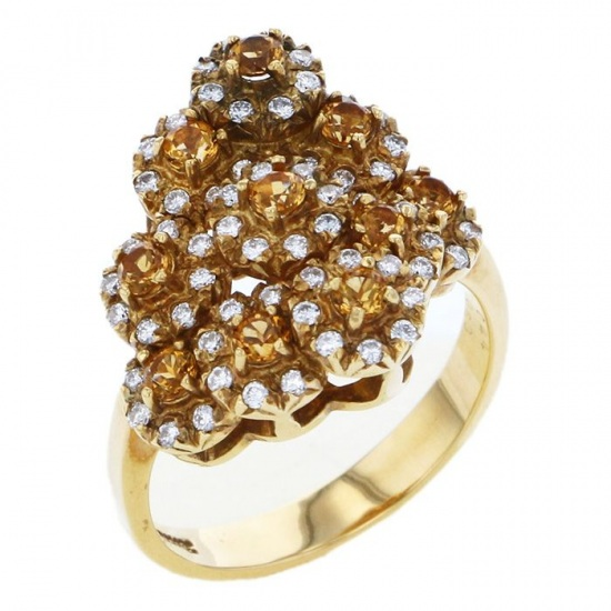 Yukizaki Select ring Yukizaki Select Jewelry ring Citrine -
