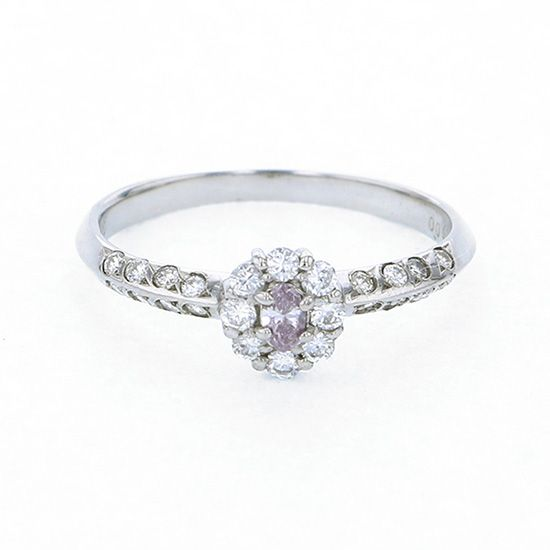 Yukizaki Select ring Yukizaki Select Jewelry ring platinum Pink diamond ring -