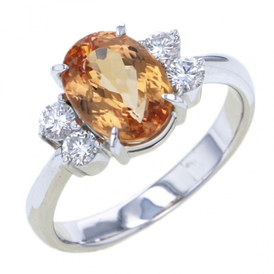 Yukizaki Select ring Yukizaki Select Jewelry ring Imperial Topaz -