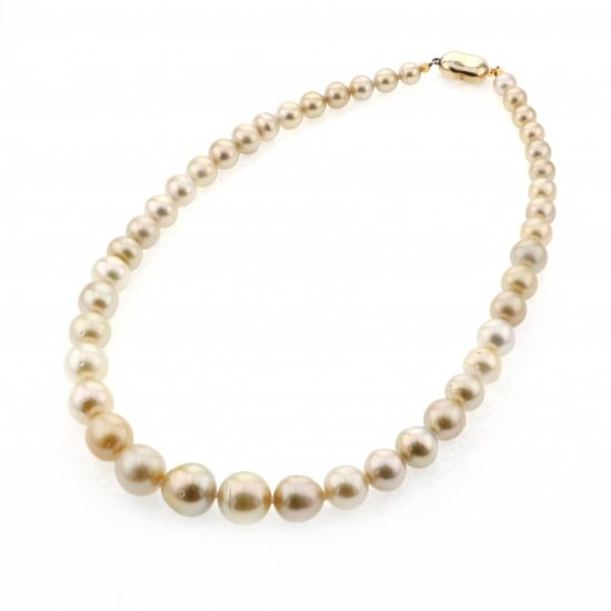 pearl necklace パール ネックレス ナンヨウパール ネックレス -