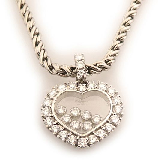 chopard necklace_pendant ショパール ネックレス/ペンダント ハッピーダイヤ -