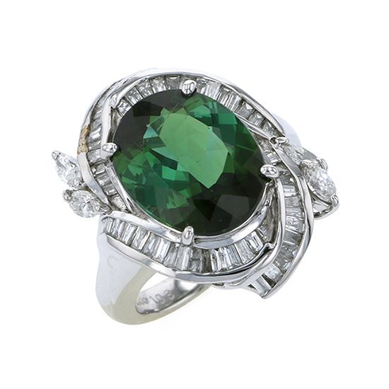 Yukizaki Select ring Yukizaki Select Jewelry ring platinum Tourmaline ring -