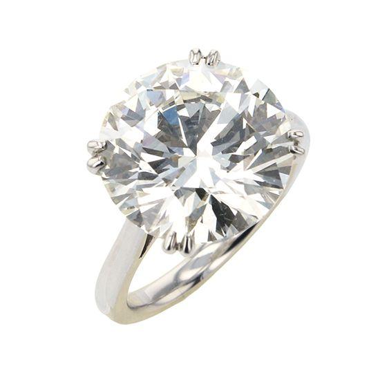 ユキザキセレクトジュエリー プラチナ ダイヤモンドリング 10.120ct