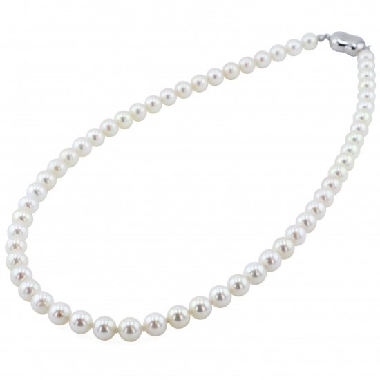 pearl necklace_pendant パール ネックレス/ペンダント シルバー パール ネックレス -