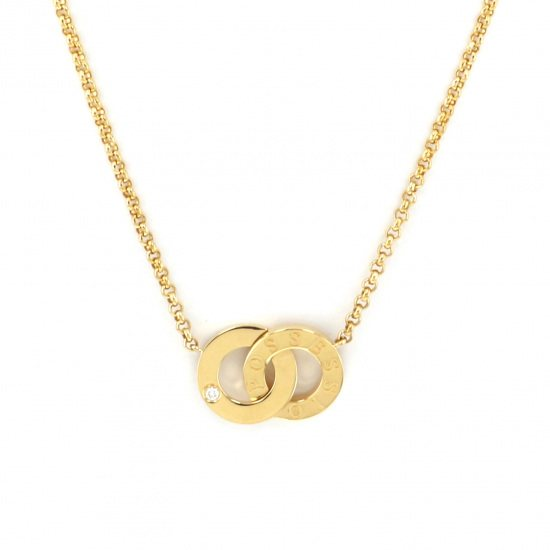 piaget necklace_pendant Piaget Necklace / pendant Yellow Gold Pocession Diamond necklace -