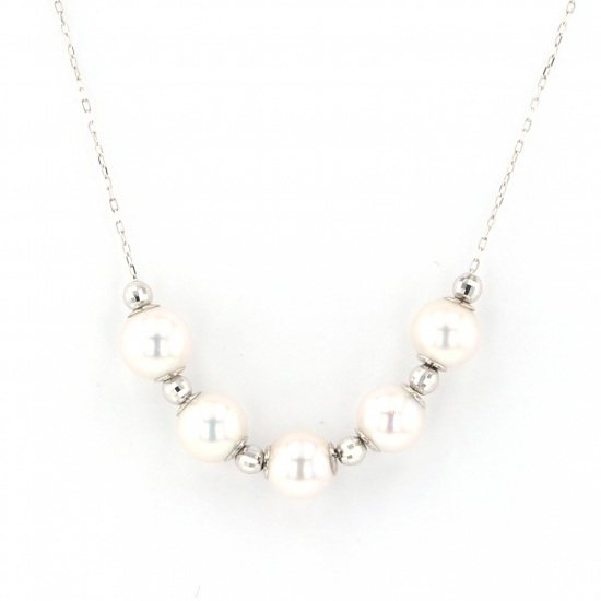 Yukizaki Select necklace_pendant Yukizaki Select Jewelry Necklace / pendant White Gold Pearl necklace -