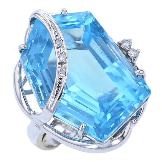 Yukizaki Select ring Yukizaki Select Jewelry ring Blue topaz -