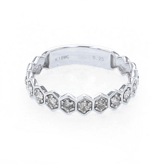 Yukizaki Select ring Yukizaki Select Jewelry ring White Gold diamond ring -